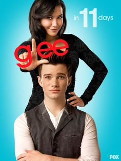 Naya and Chris promo 11 days Gleeks! Damn it, 11 is my favourite number! Can't wait!