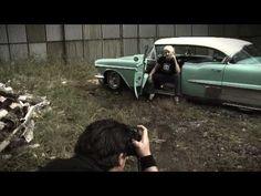 """Making-of: Dirk """"The Pixeleye"""" Behlau vs. Zoe Scarlett Pin-Up shooting 2007"""