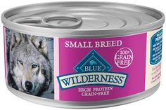 Blue Buffalo Wilderness Grain Free High Protein Small Breed Turkey and Chicken Grill Canned Dog Food (Pack of 24) >>> Read more reviews of the product by visiting the link on the image. (This is an affiliate link and I receive a commission for the sales) #Dogs