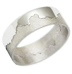 Awesome wedding band called a Coast ring....... you pick the stretch of coastline!  Great for anniversary gift...He will LOVE IT.
