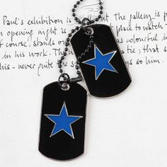Army card mens alloy necklace military identity cards dual licensing retro pendant women | punk rock necklaces