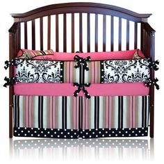 Baby girl bedding...blooming baby bedding on etsy.com