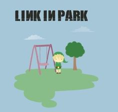 Linkin park, link in park! legend of Zelda The Legend Of Zelda, Linkin Park, Playstation, Otaku, Cinema, Mike Shinoda, Chester Bennington, Geek Out, Just For Fun
