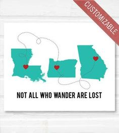 Not All Who Wander Are Lost Personalized Print