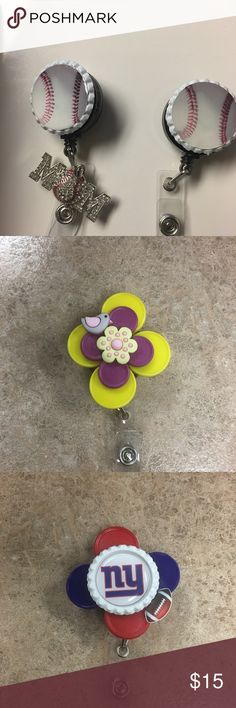 Badge holders Badge holder to hold ur name badges Accessory Collective Accessories