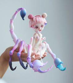 Decals For Porcelain China Custom Monster High Dolls, Custom Dolls, Kawaii Doll, Doll Painting, Anime Dolls, Creepy Dolls, Doll Repaint, Ooak Dolls, Ball Jointed Dolls
