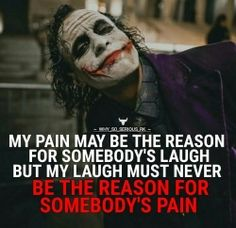 Joker quotes : Apology and trust quote joker Dark Quotes, Strong Quotes, True Quotes, Great Quotes, Positive Quotes, Quotes To Live By, Motivational Quotes, Inspirational Quotes, Joker Qoutes