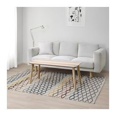 IKEA - ALRUM, Rug, flatwoven, Hand-woven by skilled craftspeople, each one is unique.Made in India in organized weaving centers with good working conditions and fair wages.The rug is made of pure new wool so it's naturally soil-repellent and very durable. At Home Furniture Store, Modern Home Furniture, Affordable Furniture, Furniture Nyc, Cheap Furniture, Discount Furniture, Furniture Design, Cheap Carpet Runners, Bedroom Carpet