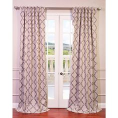 Seville Print Blackout Curtain Panel - Overstock™ Shopping - Great Deals on EFF Curtains