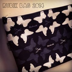 Work in progress Rubik bag 2014 / blackmilk fabric / #handmade #rubik #rubikbag #handmadebag #bag #bags #pochette #butterfly #grey #zipperbag #zipper #creativity #craft #bmilk2014 #bmilkers #bmilkfabric #scissors #sewing #ilovesew #igerscraft #instastyle #igers_lombardia #instafashion #fattoamano #madeinitaly #style lau@bmilk.net