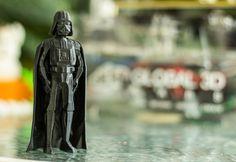 3D printed Darth Vader. Star wars #3dprinting #starwars #3dprint #3dprinter