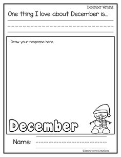 Winter Math And Literacy No Prep Printables First Grade Maths