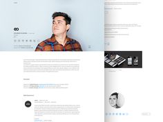 Love the idea of this look for a resume design. I think the header look would take a good chunk of the page but would be a bold, clean look! For more resume inspirations click here: http://www.pinterest.com/sheppardaaron/-design-resumes/ Creative Resume Design, Resume Style, Resume Design, Curriculum Vitae, CV, Resume Template, Resumes, Resume Format.