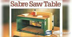 Jigsaw Table Plans - Jig Saw Tips, Jigs and Fixtures | WoodArchivist.com