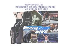 """""""Smackdown Live: Attacking Baron corbin and Helping AJ Styles Retain"""" by sage-forever ❤ liked on Polyvore featuring Dr. Martens, ASOS, Envi:, WWE, raw and smackdown"""