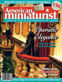 AMERICAN MINIATURIST SEPTEMBER 07 - Angelines-NINES - Picasa Web Albums
