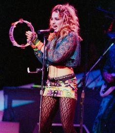 Madonna The Virgin Tour 1985