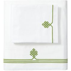 Serena & Lily Grass Gobi Embroidered Sheet Set California King ($268) ❤ liked on Polyvore featuring home, bed & bath, bedding, bed sheets, western king bedding, cal king bedding, california king bedding, cal king sheet set and ca king bedding