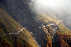 Pass road in Kakheti direction Abano Pass Tusheti by grijsz, via Flickr
