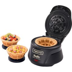 Presto waffle bowl maker. This has my name all over it. Mine will be dedicated for ice cream only!
