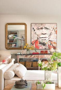 En casa de una estilista, en casa de Dafne · ElMueble.com · Casas