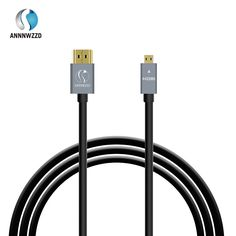 Micro HDMI to HDMI Cable Gold-Plated HDMI 1.4V 1m 1.5m 2m 3m High Premium HDMI Adapter for Phone Tablet HDTV Camera