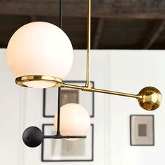 Rejuvenation is a classic American lighting and house parts general store for home improvement whose mission is to add real value to homes buildings ... & Rejuvenation Ou0026G Contrapesso 18 Globe LED Pendant | Pinterest ...