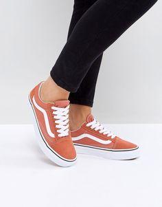 Vans Old Skool Unisex Sneakers In Orange 7bdb6867a