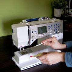 cleaning and oiling your sewing machine