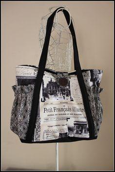 Shoulder Bag Handbag Nappy Bag Ladies Bag  by LilliMaydesigns, such a lovely bag