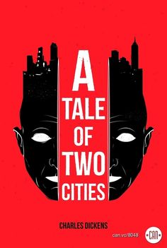 A Tale of Two Cities | 25 Beautifully Redesigned Classic Book Covers