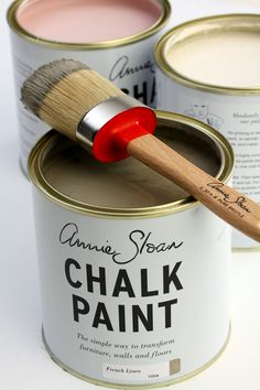 Chalk Paint™ Self priming, no sanding, no prep. Really. For walls, wood, metal, interior, exterior. 32 glorious, inspirational colours. £18.95 per litre.