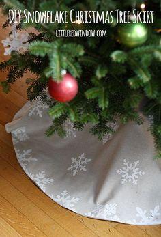 How To Make A Christmas Tree Skirt Donut Shape Tree Skirts And  - Make A Christmas Tree Skirt