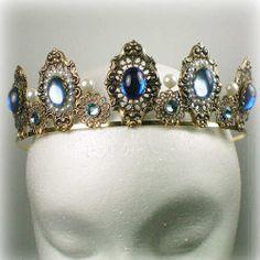 chrischelsea12548:  Anne Boleyn Sapphire Tiara