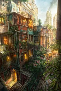 Urban Jungle - I think this is absolutely beautiful.