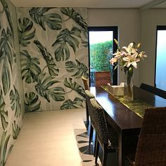 Watercolor Hand Painted Fresh Leaves Wallpaper Wall Mural, Hanging Leaves Wall Mural, Watercolor Leaf Wall Mural for Bedroom Living Room Grey Floral Wallpaper, Green Leaf Wallpaper, Garden Wallpaper, Flowers Wallpaper, Wallpaper Wall, Scenic Wallpaper, Chinoiserie Wallpaper, Painting Wallpaper, Leaves Wallpaper