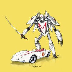 Famous cars as Transformers