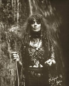 Vali Myers witch of positano pagan wicca style*(and infamous Melbourne artistic personality...*)