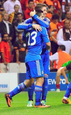 Sergio Ramos and Isco; Galatasaray vs. Real Madrid (17/9/13)