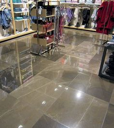 Our #GrisPulpis #marble looks wonderful in this popular store in Seoul... Do you like the final result?