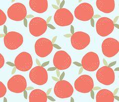 orange_L fabric by nadja_petremand on Spoonflower - custom fabric