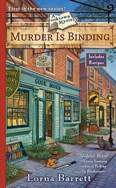 Old-fashioned murder mystery set in a booktown? I'm in!