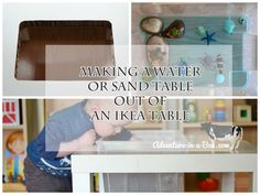 DIY project: Making a Water or Sand Table