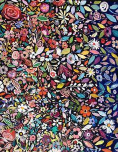 floral : border print : Starla Michelle
