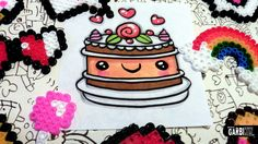 How To Draw a Cake - Easy and Kawaii Drawings by Garbi KW
