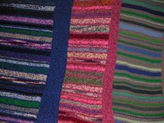 Free Knitting Pattern - Afghans & Blankets: Stashbuster Afghan