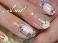 So pretty - An elegant reminder that art doesn't have to cover the whole nail.