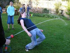 Water Limbo: How low can you go? Fun for Summer Activities
