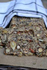The Recipe Suitcase: Savoury Wednesday: Fitness-Nuss Brot ohne Mehl