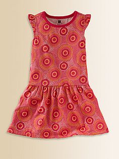 Tea Collection Toddler's & Little Girl's Elim Flutter Dress